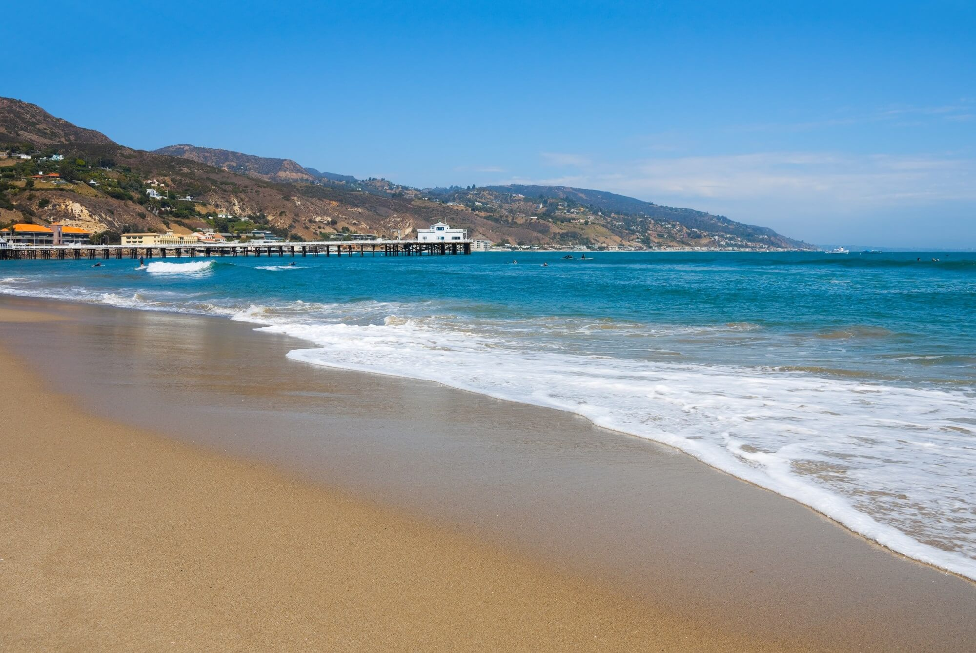 Malibu surfrider beach malibu ca california beaches for Best beach near la
