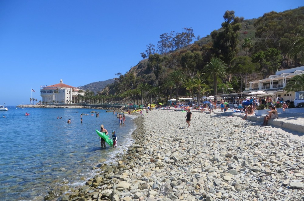 Descanso Beach on Catalina Island, Avalon, CA - California ...