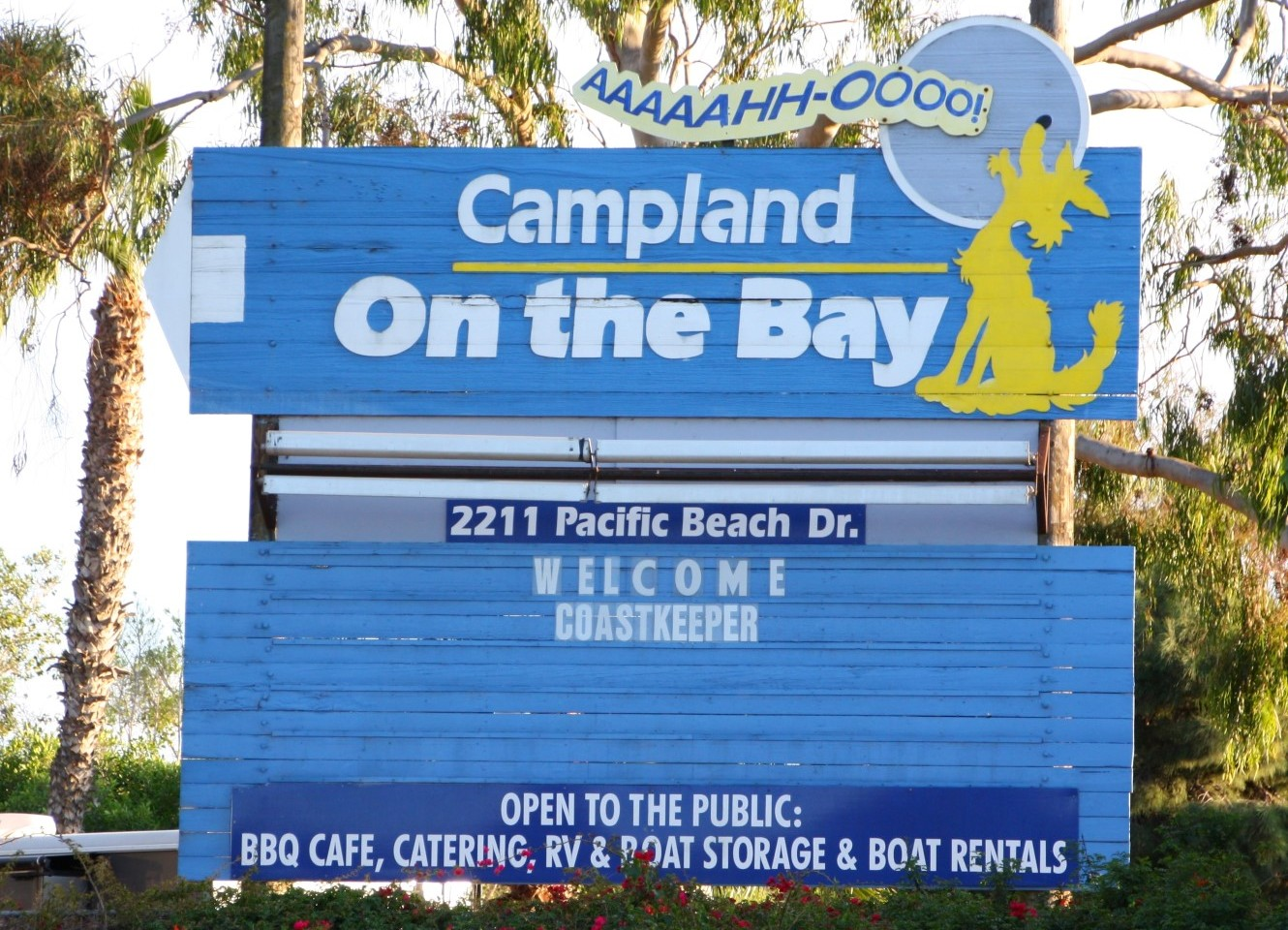 Campland On The Bay San Diego Ca California Beaches
