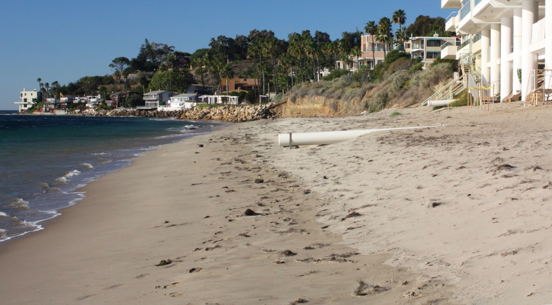 Latigo Beach on Los Angeles Beach Houses