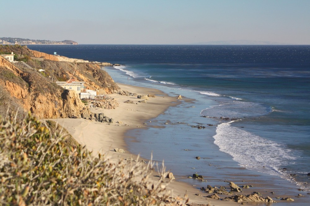 Leo Carrillo State Park Staircase Beach on Los Angeles Beach Houses