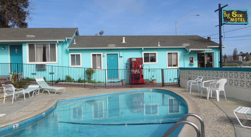 6 Motel Santa Cruz Ca California Beaches Capri