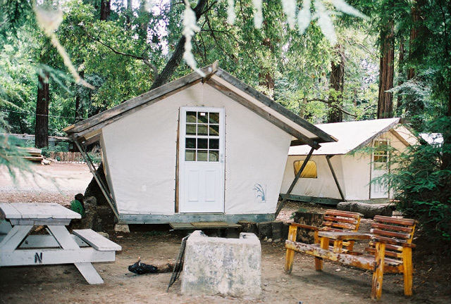 big sur campground cabins big sur ca california beaches
