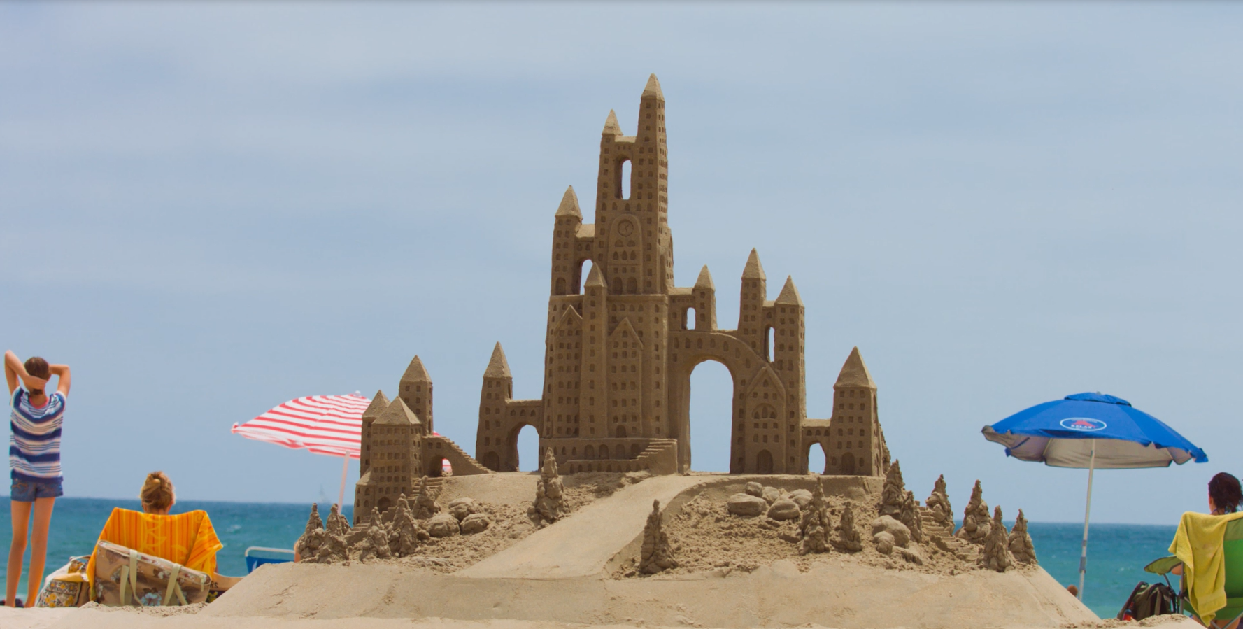 California Sandcastle Contests And