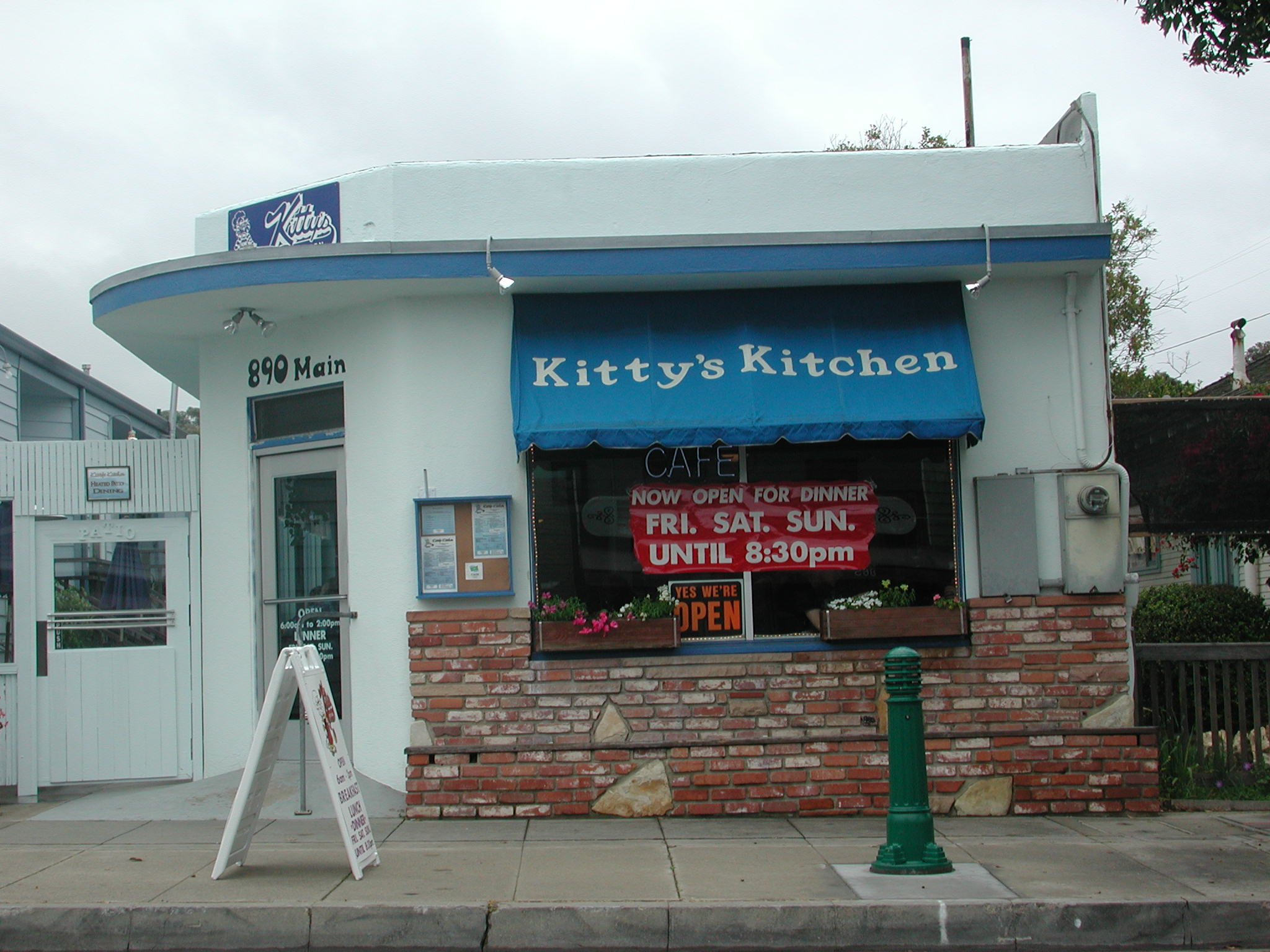 Kitty S Kitchen Menu Morro Bay
