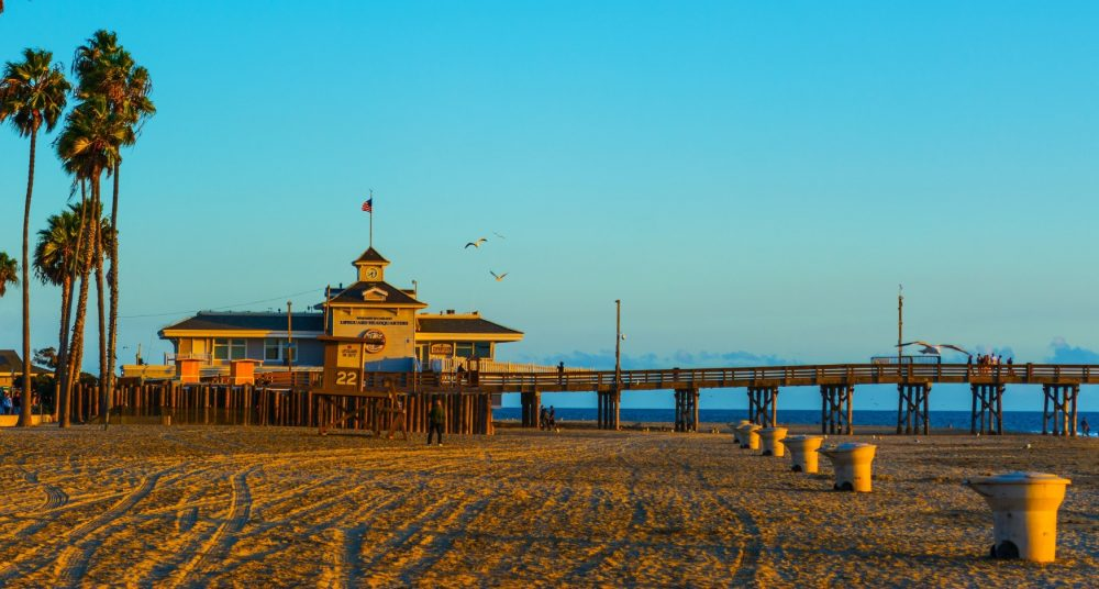 Newport Beach Pier Ca California Beaches