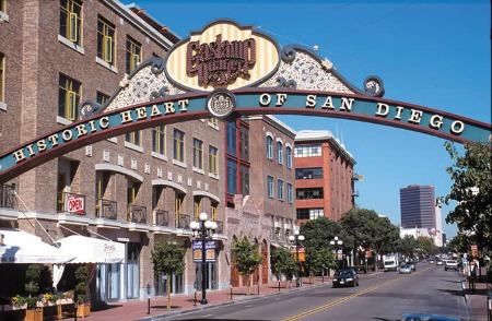 Gaslamp Quarter San Go Ca California Beaches